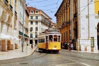 Met opvouwbare scootmobiel naar Portugal